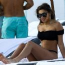 Chantel Jeffries spotted out soaking up some sun and playing in the ocean waves at Miami Beach in Miami, Florida on March 27, 2017 - 454 x 340