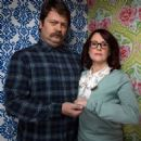 Megan Mullally and Nick Offerman - 454 x 480