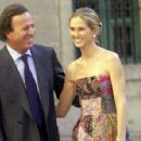 Julio Iglesias and Miranda Rijnsburger