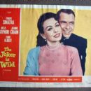 Jeanne Crain and Frank Sinatra