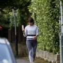 Davina McCall – Jog in a country park in Kent - 454 x 596