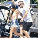 Kourtney Kardashian Takes a Boat Ride With Her Family in Miami - July 3, 2016 - 454 x 567