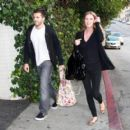 Nicky Hilton And Boyfriend David Katzenberg Leave The Chateau Marmont 2007-11-17