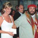 Princess Diana & Luciano Pavarotti