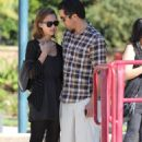 Jessica Alba - At Coldwater Park and Famous Cupcakes in Beverly Hills on Jan. 22 2011