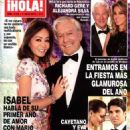 Isabel Preysler and Mario Vargas Llosa - Hola! Magazine Cover [Spain] (6 July 2016)