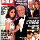 Isabel Preysler and Mario Vargas Llosa - Hola! Magazine Cover [Spain] (6 July 2016)