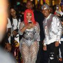 Nicki Minaj – Arriving to her Fendi Launch in Beverly Hills