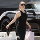 Anna Paquin – Arrives at CrossFit training in Los Angeles - 454 x 681