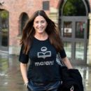 Lisa Snowdon – Leaving Hits Radio Station in Manchester - 454 x 575
