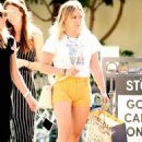 Hilary Duff – Wear tight yellow short-shorts at Ojai Valley Inn and Spa in California