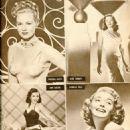 Virginia Mayo , Gene Tierney, Ann Miller, Patricia Neal, Mein Film №39, 1949 - 454 x 626