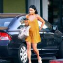 Vanessa Hudgens in Mini Dress Out in Los Angeles - 454 x 521