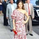 Jessica Biel – Arrives at The Late Show with Stephen Colbert in New York City