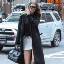 Gigi Hadid is spotted out for dinner in New York City, New York on June 17, 2016 - 387 x 600