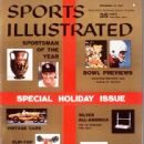 Stan Musial - Sports Illustrated Magazine Cover [United States] (23 December 1957)