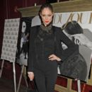 Coco Rocha: host the celebrations for the February digital issue of 'DuJour' at the Darby in New York City