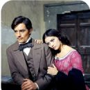 Claudia Cardinale and Alain Delon