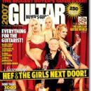 Holly Madison, Bridget Marquardt, Kendra Wilkinson, Hugh M. Hefner - Guitar World Buyer's Guide Magazine Cover [United States] (June 2006)