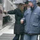 """Jennifer Aniston - Arrives On The Set Of """"The Baster"""" In New York City, 20. 4. 2009."""