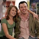 Seth MacFarlane and Kaylee DeFer