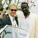 Grand Bush and his executive, Atty. Mark Kalmansohn, at the 2007 Celebrity Golf Invitational, hosted by Donald Trump.