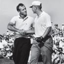 Jack with Arnold Palmer