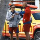 Dwayne Johnson- March 7, 2016-Stars on the Set of 'Baywatch