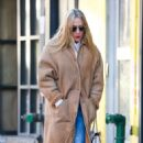 Chloe Sevigny in Long Coat – Out in New York City - 454 x 733