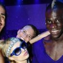 Mario Balotelli and Paris Hilton