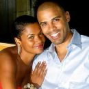 Nia Long and Ime Udoka - 320 x 240