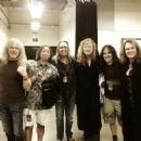 Dave Murray, Janick Gers, Nicko McBrain, Steve Harris, Dave Mustaine & Dave Ellefson - 454 x 454