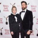 Emily Blunt and John Krasinski :  71st Annual Writers Guild Awards - New York Ceremony - 392 x 600