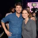 Jon Heder and Jenna Fischer