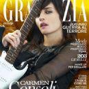 Carmen Consoli - Grazia Magazine Cover [Italy] (2 December 2015)