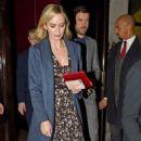 Emily Blunt – Leaving a swanky establishment in Mayfair