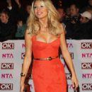 Tess Daly - National Television Awards - 29 October 2008