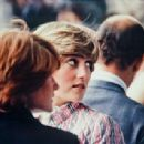 Lady Diana Spencer attended the women's singles final at Wimbledon, between Chris Evert Lloyd and Hana Mandlikova - 3 July 1981 - 454 x 308