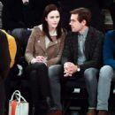 Rachel Brosnahan and Jason Ralph – Boston Celtics vs New York Knicks game - 454 x 511