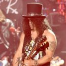 Musician Slash of Guns N' Roses performs onstage during day 2 of the 2016 Coachella Valley Music & Arts Festival Weekend 1 at the Empire Polo Club on April 16, 2016 in Indio, California.