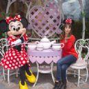 Lea Michele Mickeys Toontown At Disneyland In Anaheim