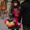 America Ferrera - On The Set Of Ugly Betty At Madison Square Park In New York - December 4 2008
