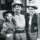 Gloria Winters, Kirby Grant & Ron Hagerthy of Sky King - 350 x 316
