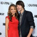 Sarah Hyland and Matt Prokop at the 2012 Outfest Closing Night Gala For 'Struck By Lightning' (July 22) - 454 x 666