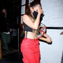 Kylie Jenner – keeps a low profile as she is spotted leaving 40 Love with friends in West Hollywood