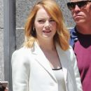 Emma Stone – Leaves a photoshoot in Los Angeles