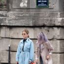 Lucy Hale – Out and about in Paris