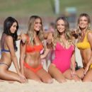Steph Claire Smith in Bikini – Photoshoot on Bondi Beach in Sydney - 454 x 321