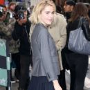 Kiernan Shipka – Arrives at AOL Build Series in NYC