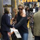 Gemma Atkinson – Arriving into Manchester Piccadilly train station - 454 x 764